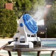 Artic Cove18-Volt Bucket Top Misting Fan Use with a Garden Hose