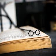 Cool Bookmark Metal Harry Potter glasses Bookmark Nice Bookmarker