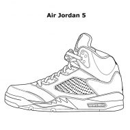 Da Vinci Air Jordan Coloring Book Good for Artist