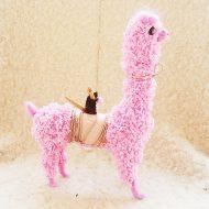 Dodobob Plush Llama Handmade Item