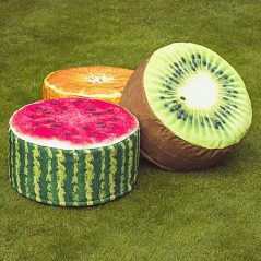 Park your butt on these fruity seats.
