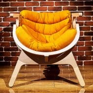 Ipatov Style Wooden Chair Great for Relaxation