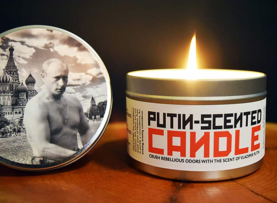 In Russia, scented candles smell you!