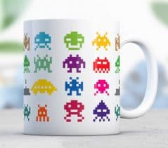 Retro mug goodness.