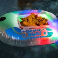 Pool Candy Illuminated Drink Boat Good for Snacks