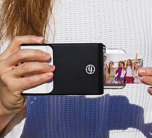 Turn your smartphone into an instant camera.