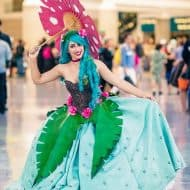 Rage Costumes Venusaur Ball Gown Handmade Item