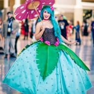 Rage Costumes Venusaur Ball Gown Pokemon Themed Costume