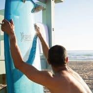 Strand Surfboard Shower Customizable Board