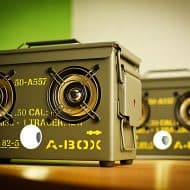 Thodio .50 Cal A-box The Original Ammo Can Boombox Bluetooth Speakers