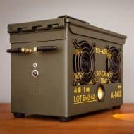 Thodio .50 Cal A-box The Original Ammo Can Boombox Handmade