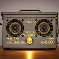 Thodio .50 Cal A-box The Original Ammo Can Boombox Iphone Compatible