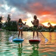 Torch SUP Paddle Great for Night Activity