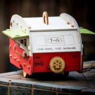 1Man1Garage Vintage Camper Bird House Handmade Item