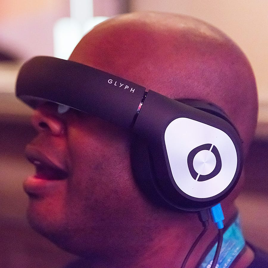 Personal theater in a headset.