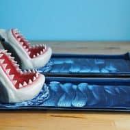 Avi Ceramics Shark Sushi Plate Handmade