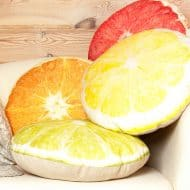 Casacova Fruit Pillows Made from Natural Linen Fabric