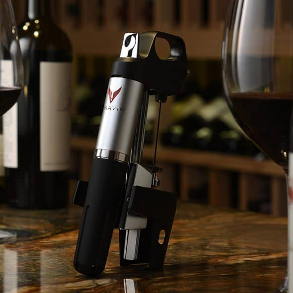 State of the art wine access technology.