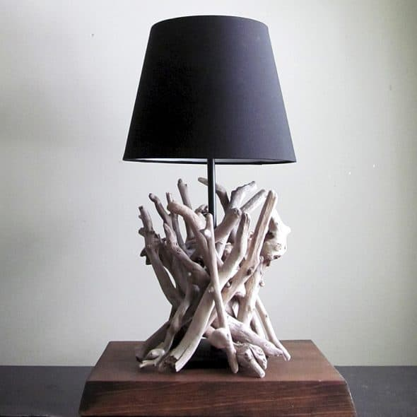 Bring the beach inside your home with a lamp.