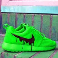 Drip Gawds Candy Roshe Melts Nike Roshe Luminous Green Kicks