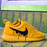 Drip Gawds Candy Roshe Melts Protected using Angelus Water Proof and Non Crak Leather Paints