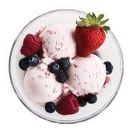 Host Ice Cream Freeze Cooling Bowl BPA Free Acrylic Walls