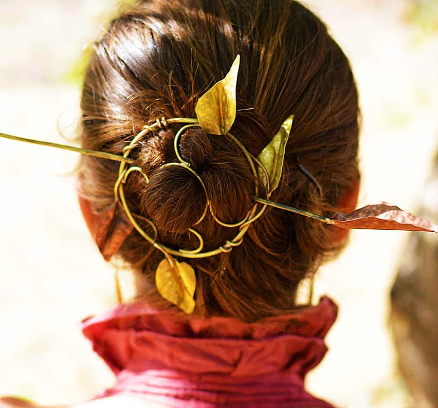Manage your hair like a Greek goddess.