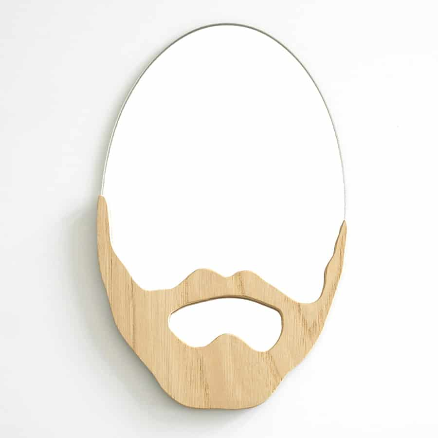 Bald mirror on the wall, who is the hairiest of them all?
