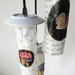 One man's wrapping paper is another man's ceiling lamp.