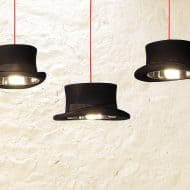 Mr. J Designs Prince Edward Top Hat Light Stainless Steel Insert