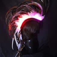Playaborn Warrior Feather Mohawk Nice Costume