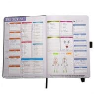 Radiance Personal Lifestyle and Nutrition Planner For Daily Checklist