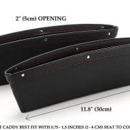 Sky Rox Leather Car Side Seat Caddy Extra Strorage