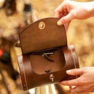 Walnut Studiolo Seat Barrel Bag Handmade