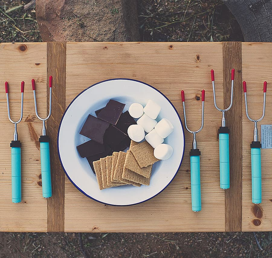 Making S'mores just got more stylish.