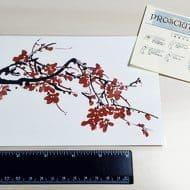 prosciuttojojo-red-plum-blossom-temporary-tattoo-non-toxic-ink