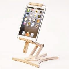 Smart and natural way to stand your phone.