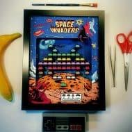 glitch-artwork-space-invaders-arcade-3d-shadow-box-wall-decoration