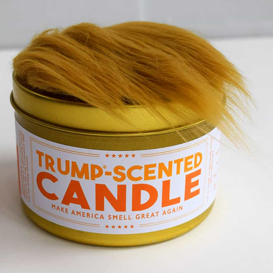 Jd And Kate Industries Trump Scented Candle Noveltystreet