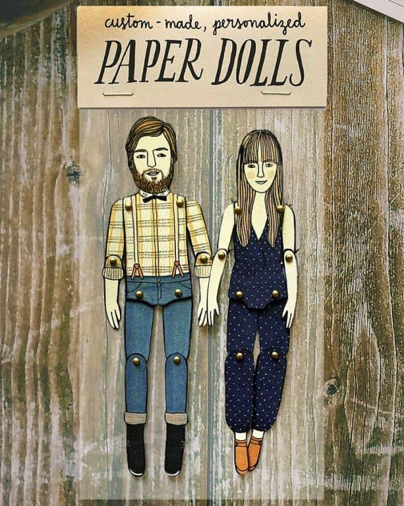 I feel like paper.