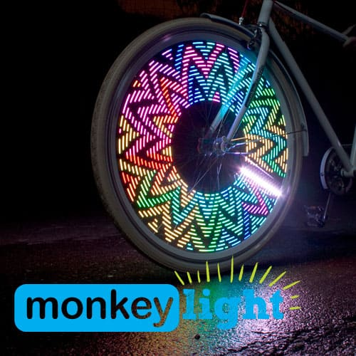 Monkey Light Rainbow Flower
