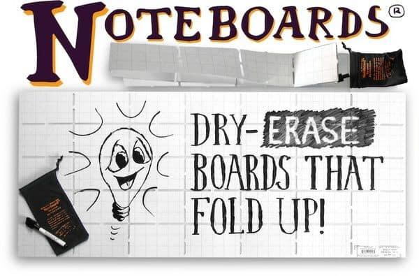 Noteboards Full-size Foldable Whiteboard