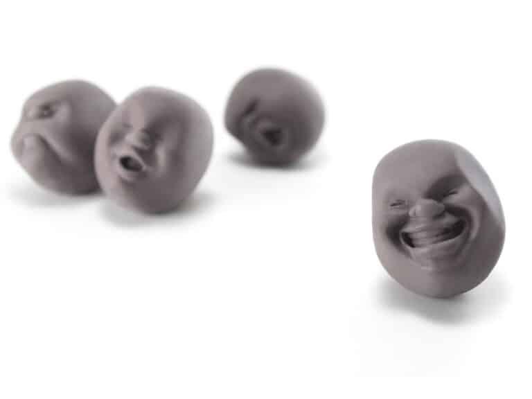 Plus D Caomaru Face Stress Balls Fun Psychological Relief Tool