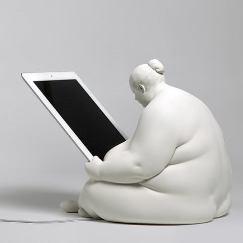 Venus of Cupertino - iPad Docking Station rear left