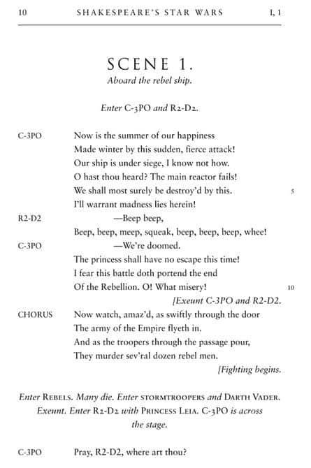 William Shakespeares Star Wars  2
