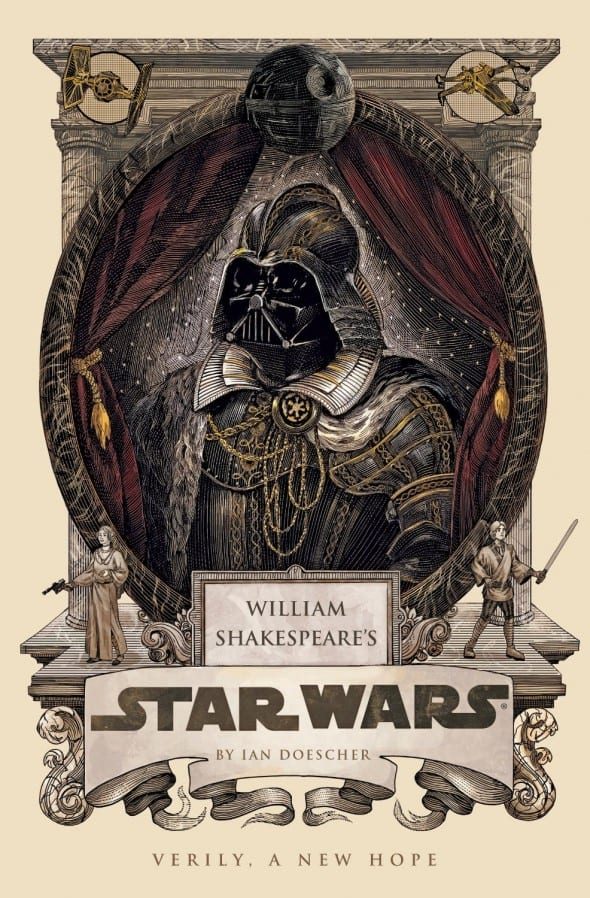 William Shakespeares Star Wars  Book Cover