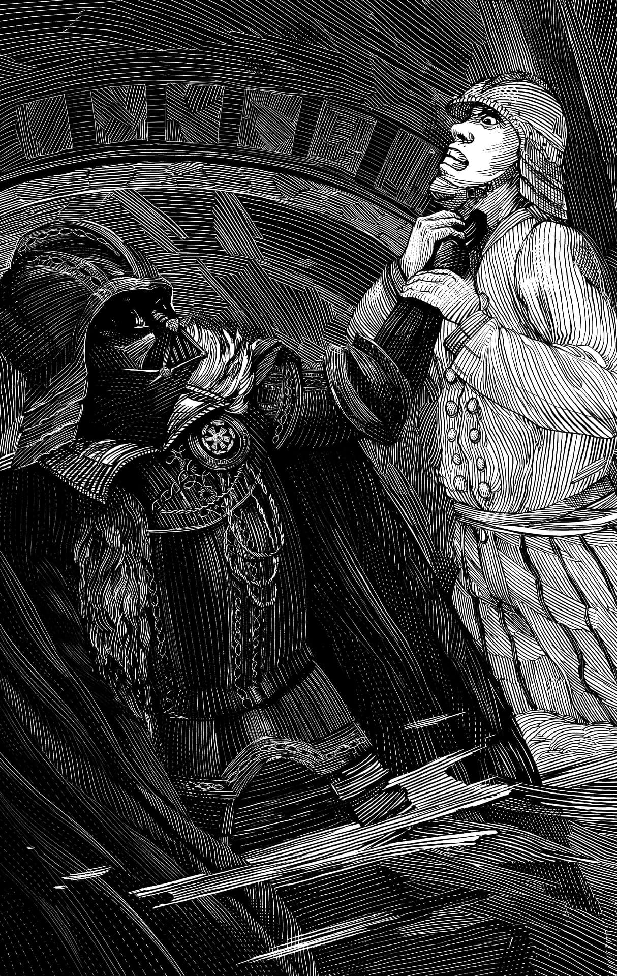 William Shakespeares Star Wars  Darth Vader Strangle