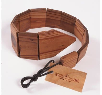 Wood Thumb Wooden Tie 2