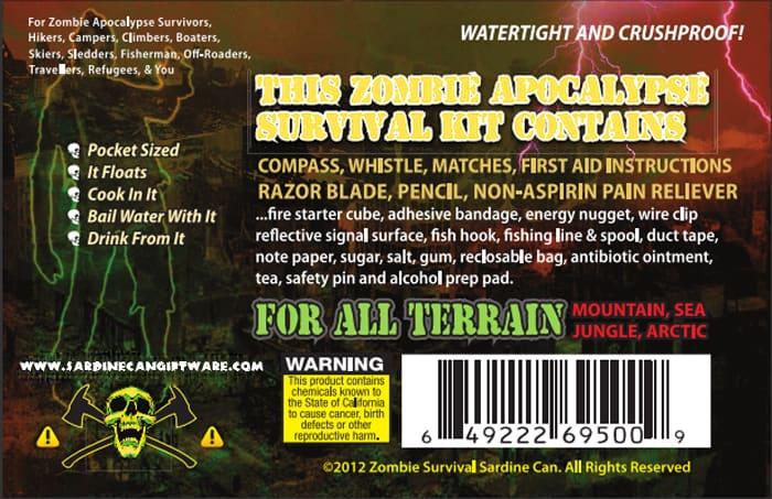 Zombie Survival Sardine Can 1