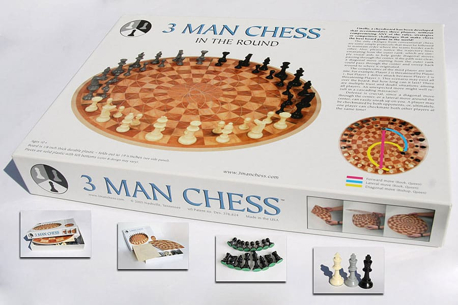 3-Man-Chess-Geek-Gift-Crazy-Invention-Box
